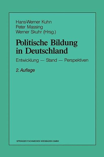 politische bildung in deutschl and kuhn hans werner