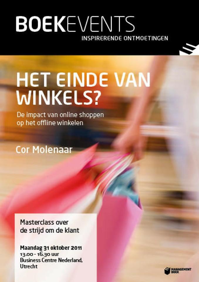 Boekevent - Het einde van winkels? - maandag 31 oktober 2011