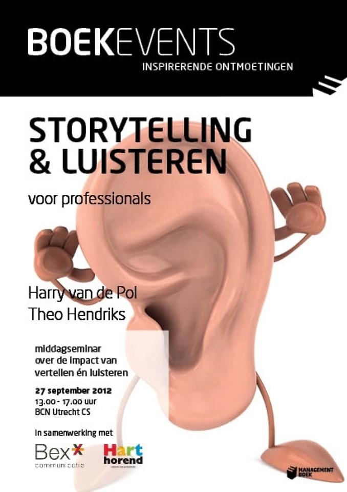 Boekevent - Storytelling & luisteren voor professionals - donderdag 27 september 2012