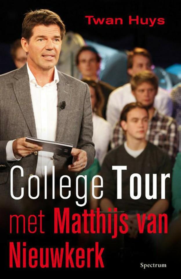 College tour met Matthijs van Nieuwkerk