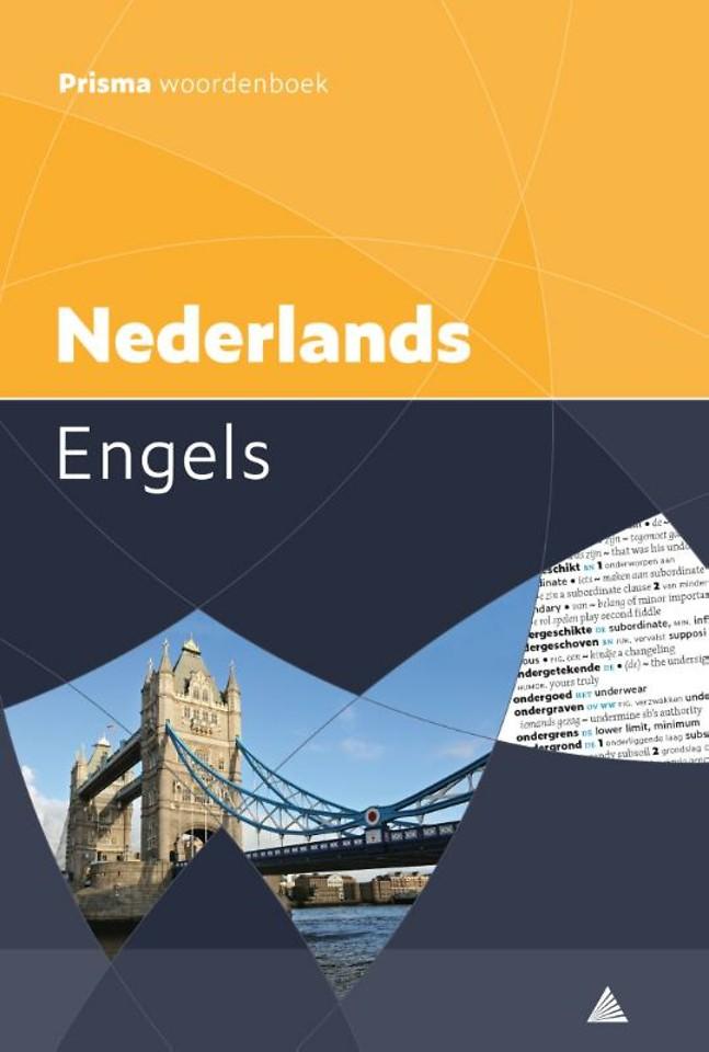 Prisma pocketwoordenboek Nederlands-Engels