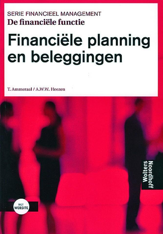 De financiele functie Financiele planning en beleggingen
