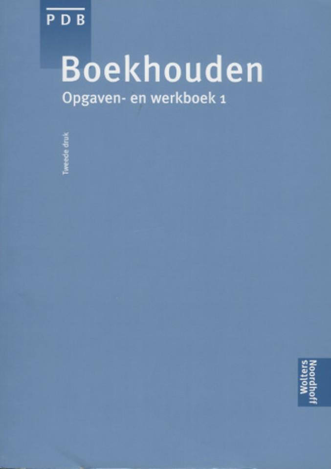 Boekhouden, Opgaven- en werkboek 1