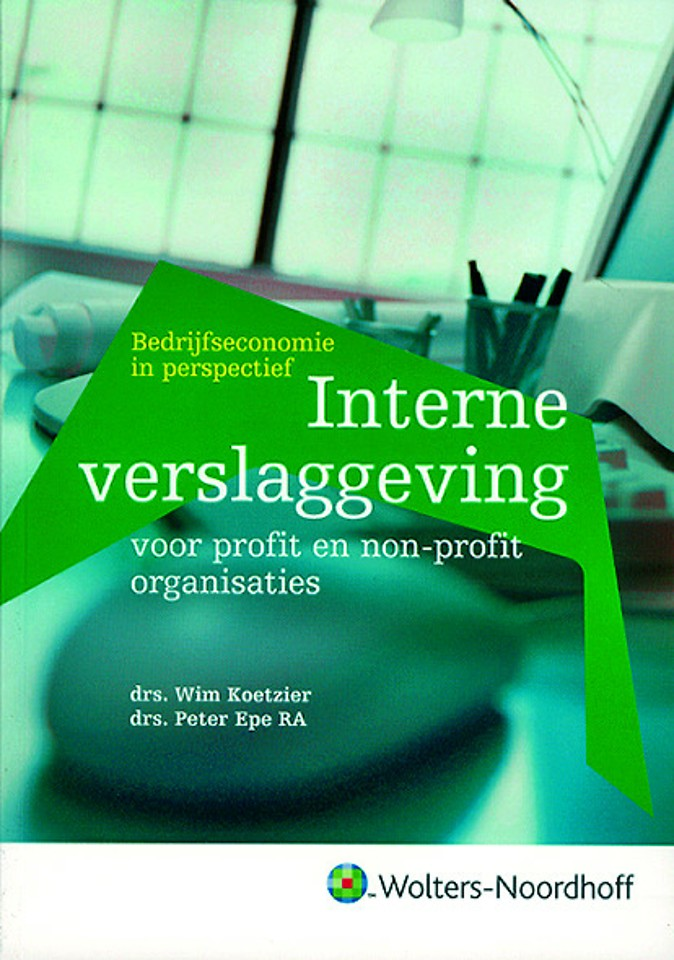 Interne verslaggeving voor profit en non-profitorganisaties