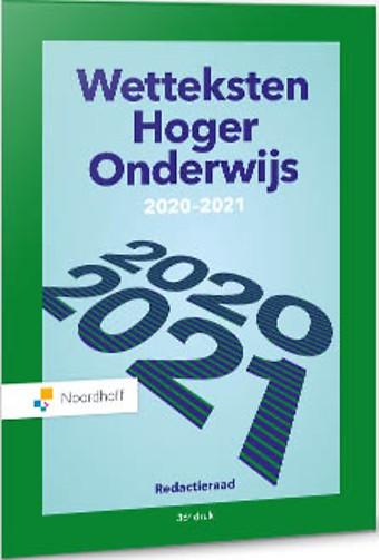 Wetteksten Hoger Onderwijs 2020-2021