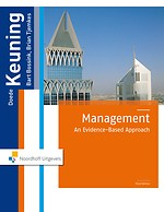 Management: An Evidence-Based Approach