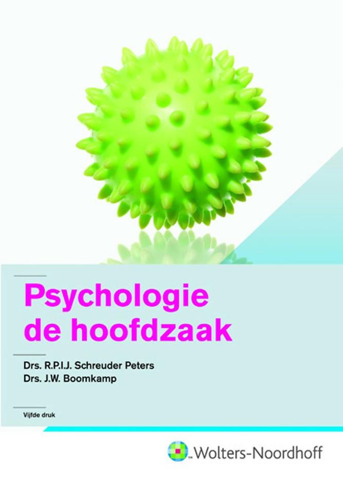 Psychologie: de hoofdzaak