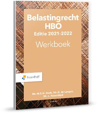 Belastingrecht HBO editie 2021-2022 - Werkboek