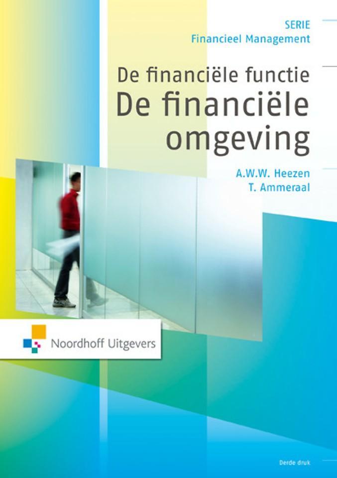 De financiële functie: De financiële omgeving