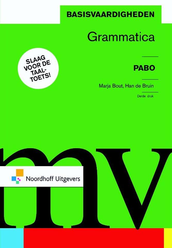 Pabo Basisvaardigheden grammatica