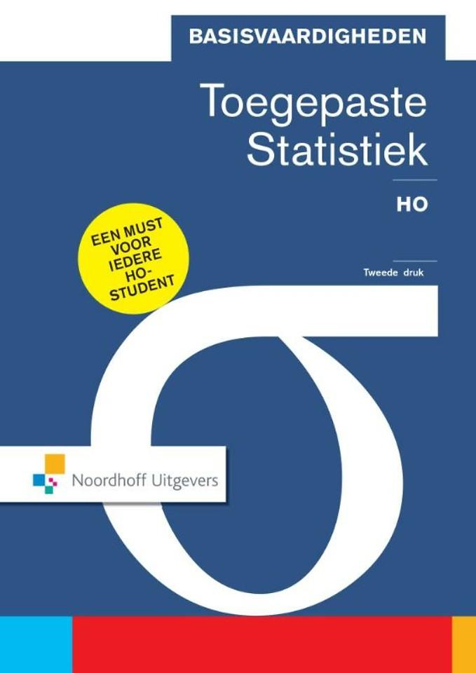 Basisvaardigheden toegepaste statistiek HO - (e-book met code)
