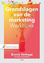 Grondslagen van de marketing - werkboek