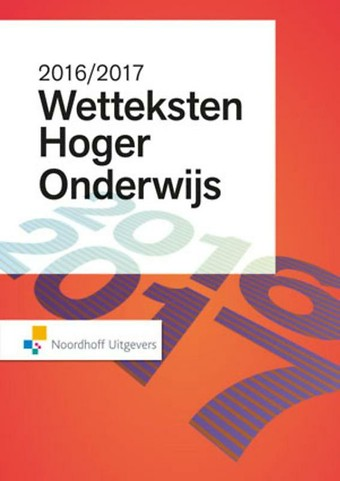 Wetteksten Hoger Onderwijs 2016-2017