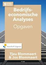 Bedrijfseconomische analyses. Opgaven (8e druk)
