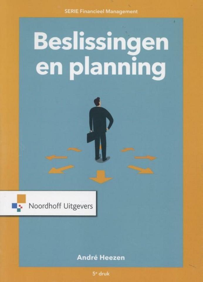 Beslissingen en planning