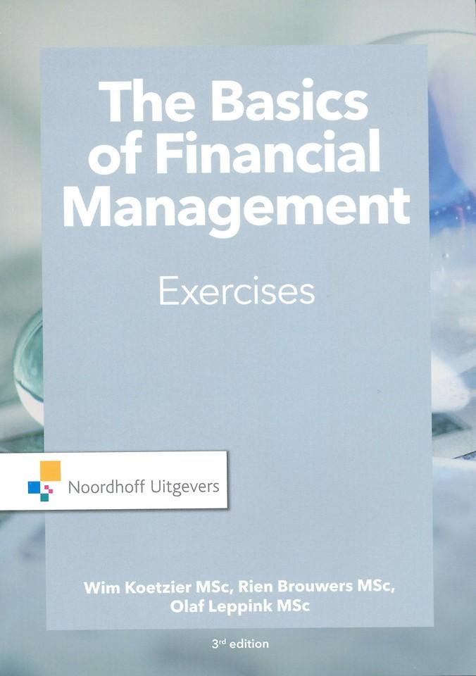 Basics of Financial Management - Exercises