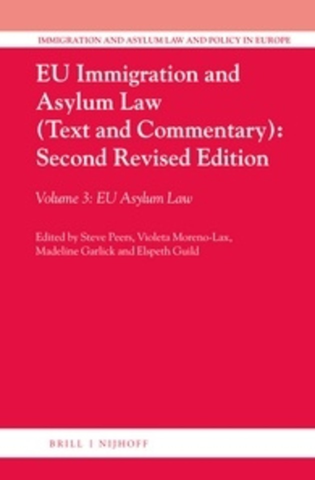 EU Immigration and Asylum Law (Text and Commentary)