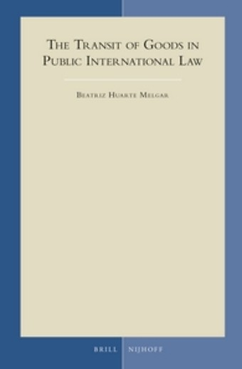 The transit of goods in public international law