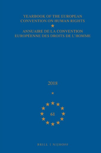 Yearbook of the European Convention on Human Rights 2018, vol. 61