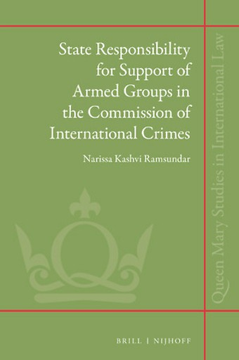 State Responsibility for Support of Armed Groups in the Commission of International Crimes