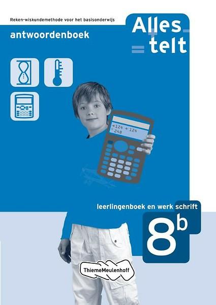 alles telt 8b antwoordenboek door els van den bosch-ploegh, brugt