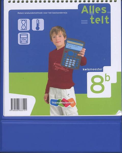 alles telt kwismeester 8b door sandra hessing, (paperback