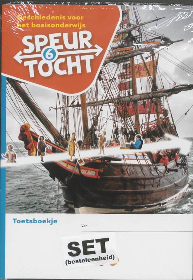 Speurtocht Groep 6 Geschiedenis voor het basisonderwijs Toetsboekje