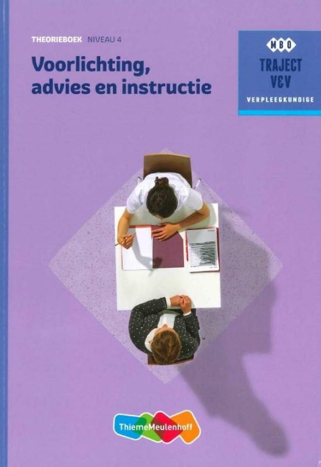 Voorlichting, advies en instructie Theorieboek Niveau 4