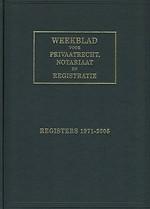 Weekblad voor privaatrecht, notariaat en registratie