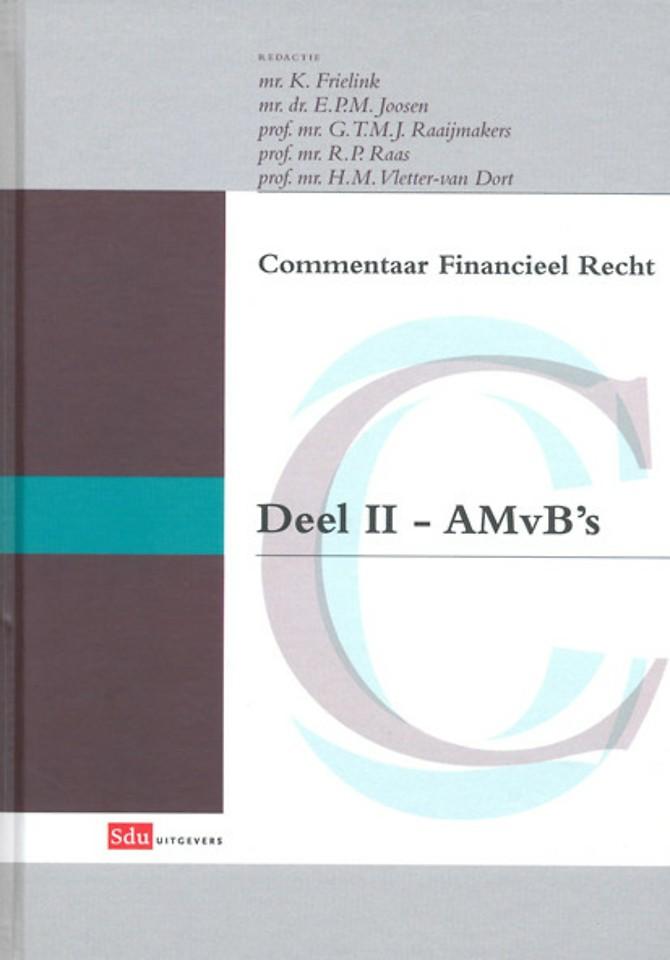 Commentaar Financieel Recht deel II - AMvB's