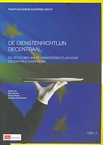 De dienstenrichtlijn decentraal