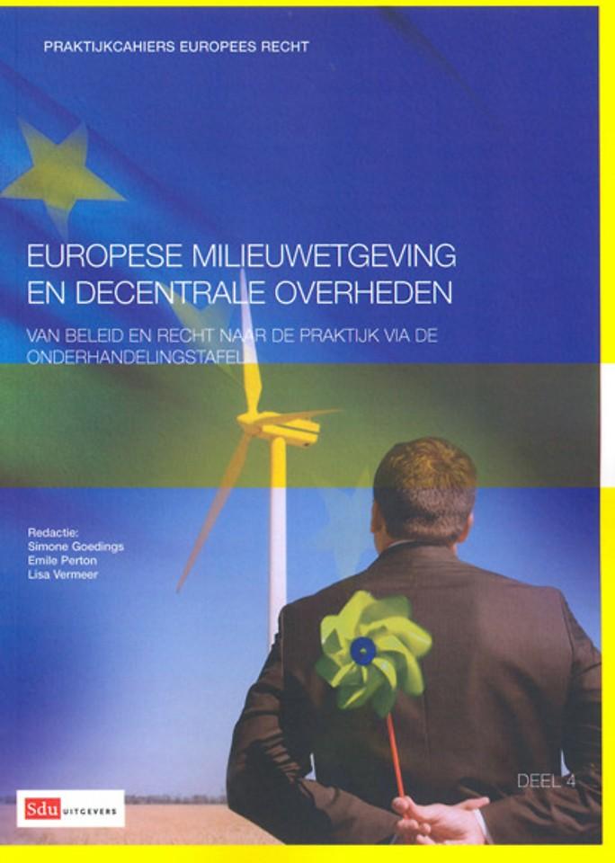Europese milieuwetgeving en decentrale overheden