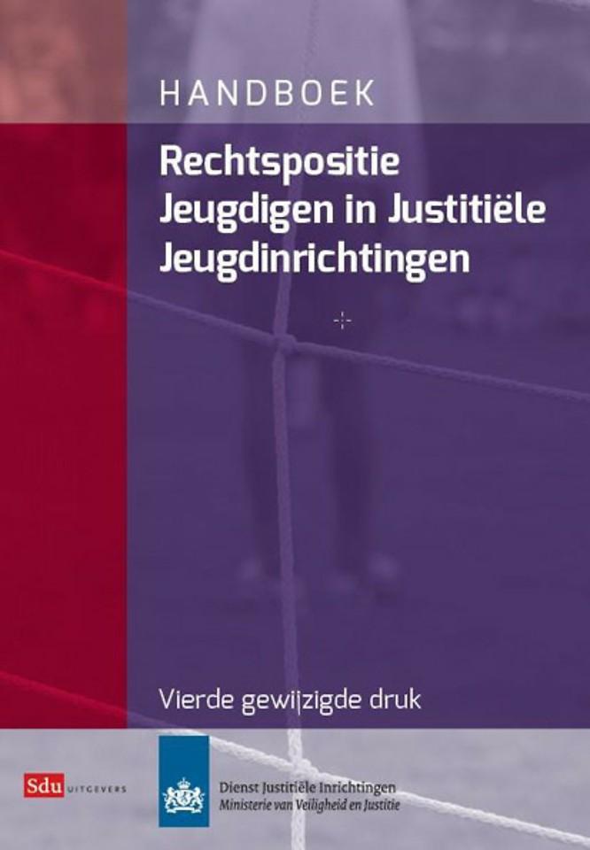 Handboek rechtspositie jeugdigen in justitiële jeugdinrichtingen
