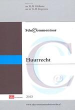 Sdu Commentaar Huurrecht 2013