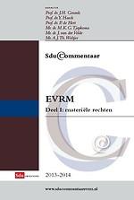 Sdu Commentaar EVRM, Deel 1, materiële rechten 2013-2014