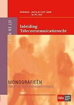 Inleiding Telecommunicatierecht