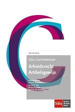 Sdu Commentaar Arbeidsrecht 2015 Artikelsgewijs (boek)