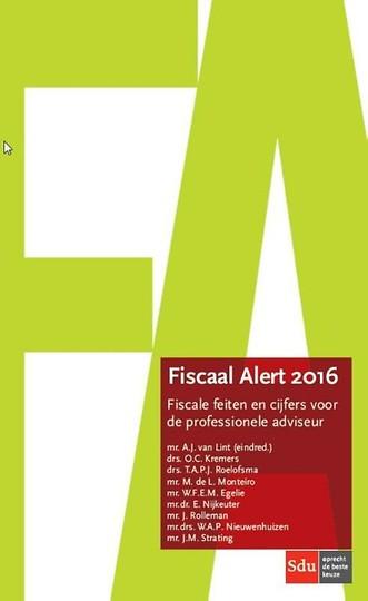 Fiscaal Alert 2016