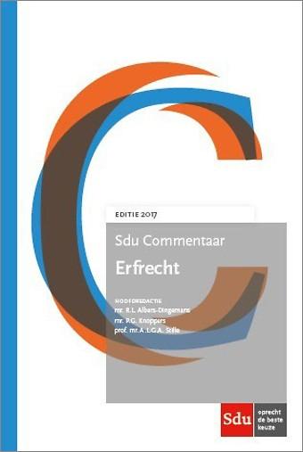 Sdu Commentaar Erfrecht - Editie 2017