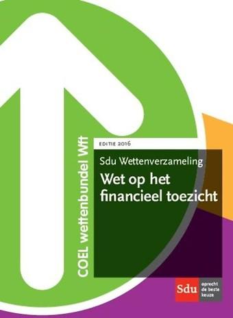 Wettenverzameling Wet op het financieel toezicht 2016