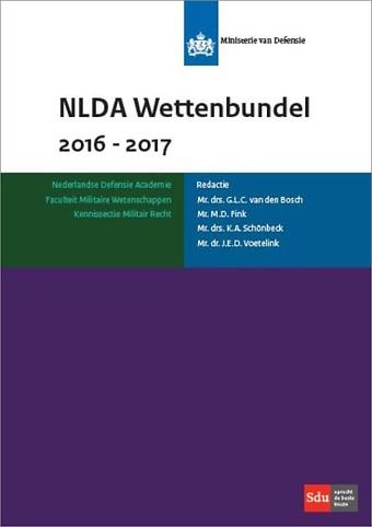 NLDA Wettenbundel Militair Recht 2016-2017