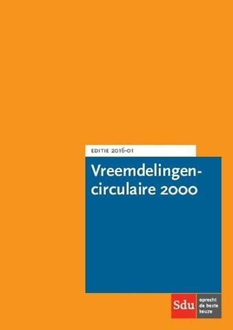 Vreemdelingencirculaire 2000 - Editie 2016-1