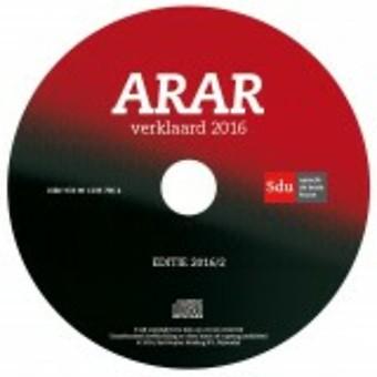 CD-ROM ARAR Verklaard 2016-2