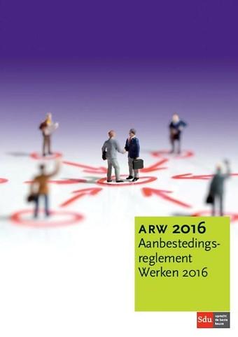 Aanbestedingsreglement Werken 2016