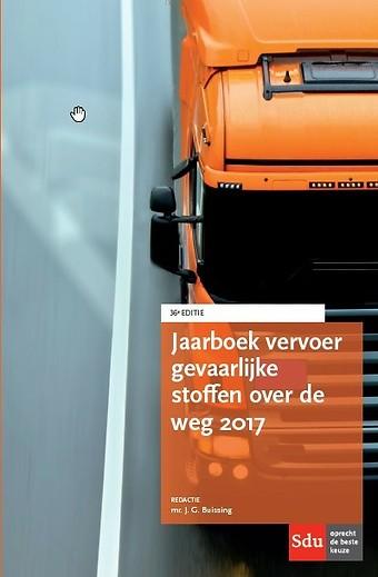 Jaarboek Vervoer Gevaarlijke stoffen over de weg 2017