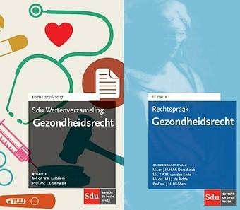 Combinatiepakket: Sdu Wettenverzameling Gezondheidsrecht & Rechtspraak Gezondheidsrecht