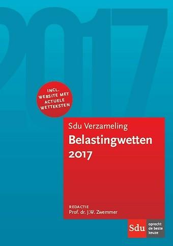 Sdu Verzameling Belastingwetten 2017