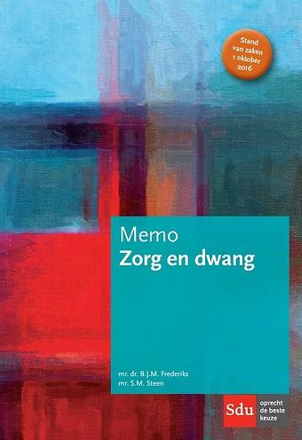 Memo Zorg en dwang