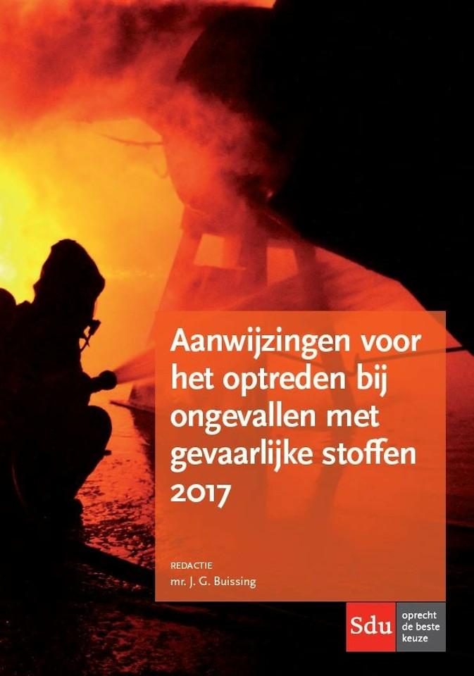 Aanwijzingen voor het optreden bij ongevallen met gevaarlijke stoffen, 2017
