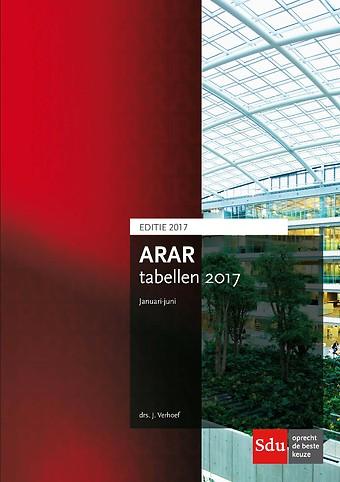 ARAR tabellen januari-juni 2017